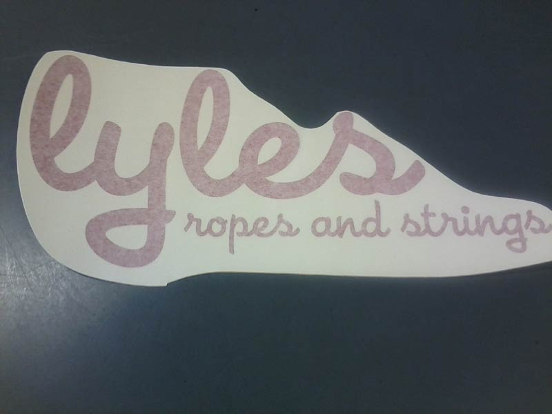 Lyles Trailer Sticker